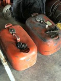 Pair of Six Gallon Boat Gas Tanks