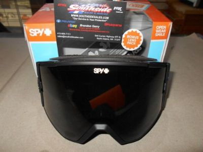 Purchase Spy Ace Snowmoble Goggle Nocturnal Frame Grey/WBlkMr Persimmon Lens 310071600269 motorcycle in North Adams, Massachusetts, United States, for US $94.95