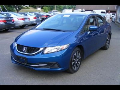 2015 Honda Civic EX (Dyno Blue Pearl)