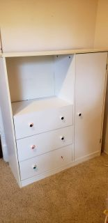 White Dresser/Wardrobe/Tv Stand ~Kids Room