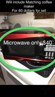 Microwave by Hamilton Beach/ message me if interested