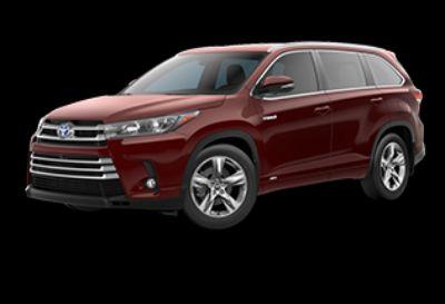 2019 Toyota Highlander Hybrid Limited (Ooh La La Rouge Mica)