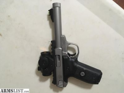 For Sale: DEAL S&W Victory Threaded .22 red dot