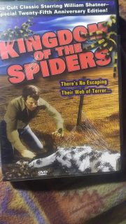 NEW DVD - KINGDOM OF THE SPIDERS -SEALED