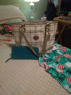 $40 COACH purse and wallet set