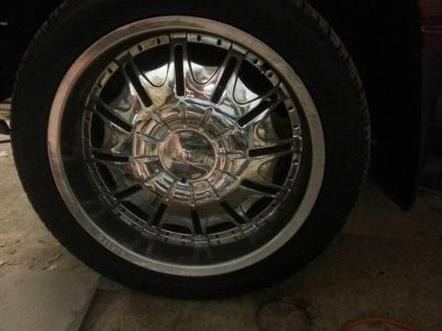 22 Universal rims and tires