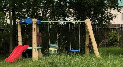 Little Tikes Swing Set and Slide