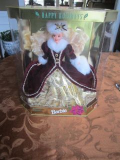 1996 Happy Holiday Barbie Special Edition NIB