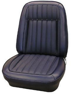 Purchase Seat Covers, Front & Rear, 1969 Camaro Deluxe Coupe, Black motorcycle in Munford, Alabama, United States, for US $420.00