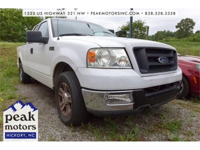 2005 Ford F-150 XL (White)