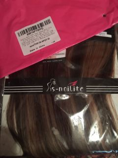 Hair extensions beautiful.