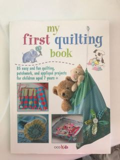 Kids quilting book