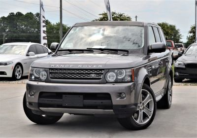 2010 Land Rover Range Rover Sport Supercharged (Grey)