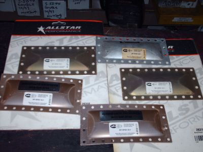 5 brand new SFI burst plates