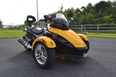 2009 Can-Am Spyder GS Roadster with SE5 Transmission (semi auto) 3 Wheel Motorcycle Motorcycles Grantville, PA