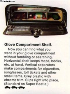 [WTB] Glove box organizer, compartment shelf accessory