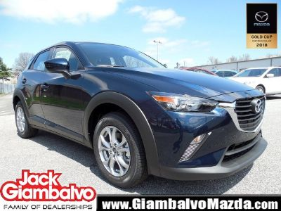 2018 Mazda CX-3 Sport (Deep Crystal Blue Mica)