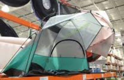 Light speed sun/shade tent, used twice. My son doesn t use it enough to warrant keeping it.
