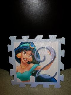 NEW Disney's Princess Large Hopscotch Play Mat #2 (Jasmine)