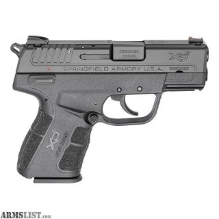 """For Sale: SPRINGFIELD XDE 9MM 3.3"""""""