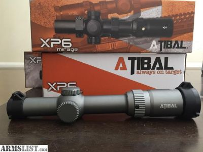 For Sale: Atibal Mid Range Scopes priced very low