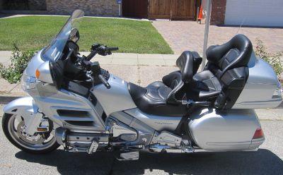 2007 Honda Gold Wing Audio / Comfort / Navi / ABS Touring Motorcycles San Jose, CA