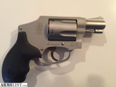 For Sale: MINT CONDITION SMITH &WESSON AIRWEIGHT 38+P