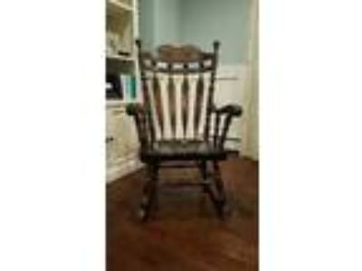 Ethan Allen Wood Rocking Chair Good Condition Nursery Rocker
