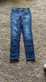 girls justice denim size 8slim