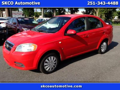 2007 Chevrolet Aveo LS (RED)