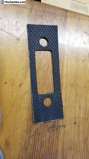 Original 911 912 Dash Radio Mounting Plate Covered