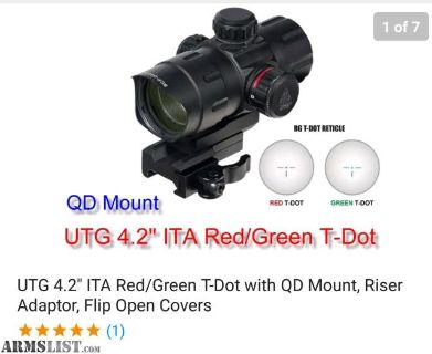 For Sale: Red dot sights