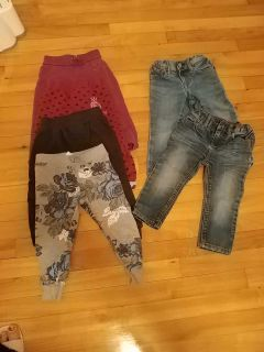 2T joggers and Jeans