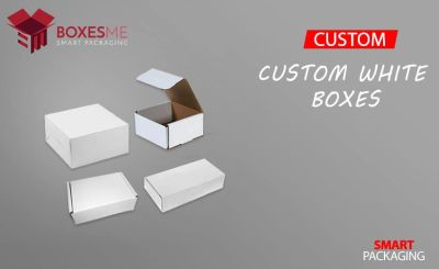 Get Amazing Designs of Custom White Boxes