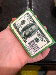 new Money playing cards