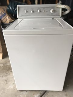 Amana Washer & Dryer - Commercial.