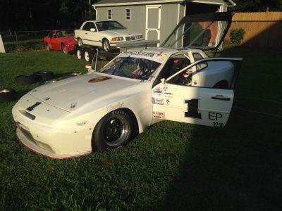 1987 PORSCHE 944 EP/GT3 Race Car & Spare Car For Sale