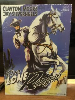 METAL WALL SIGN LONE RANGER