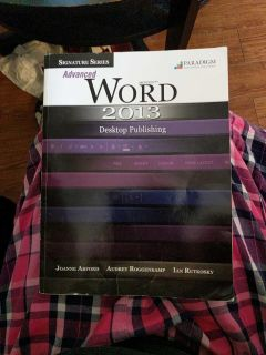 Office education text book-Advanced word 2013