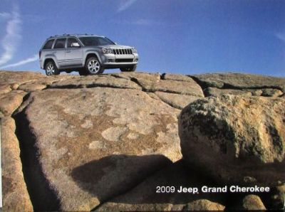 Buy 2009 Jeep Grand Cherokee Laredo Limited Overland SRT8 Original Sales Brochure motorcycle in Holts Summit, Missouri, United States, for US $17.09