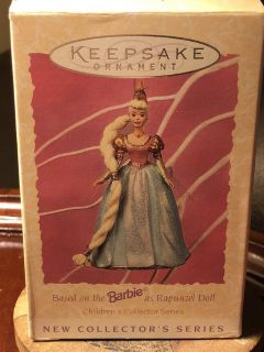 Hallmark keepsake ornament Barbie as Rapunzel doll children s collector series