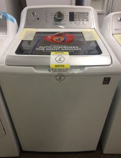GE 5.0 HE Washer in White