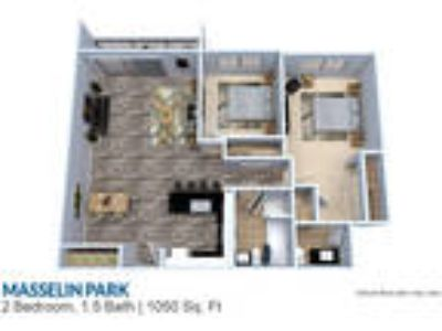 Masselin Park West - Two BR 1.5 BA 1050 sq ft