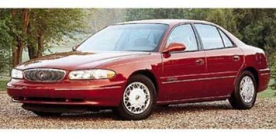 1997 Buick Century Custom (Bordeaux Red (Pearl))