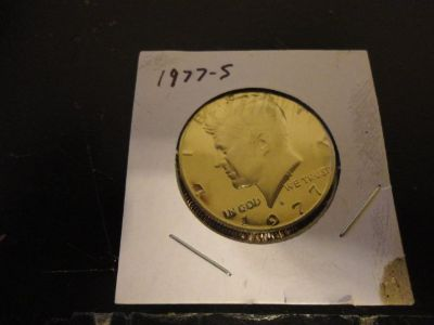 1977s kennedy half dollar brilliant uncirculated cameo proof interested text 931 218 8243