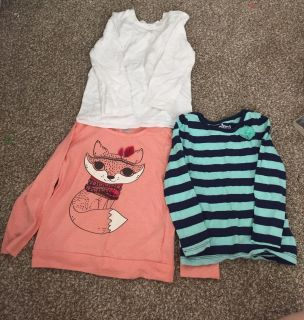 Long Sleeve TShirts Lot of 3, Size 3T
