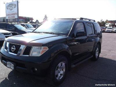 2007 Nissan Pathfinder S (Black)