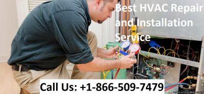 Best HVAC maintenance and installation service +1-866-509