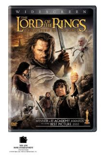 The Lord of the Rings/ The Return of the King DVD