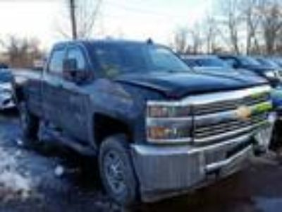 Salvage 2018 CHEVROLET SILVERADO for Sale
